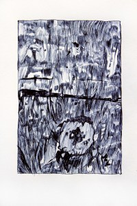 Untitled, 2011, Ink on paper, 30x50cm