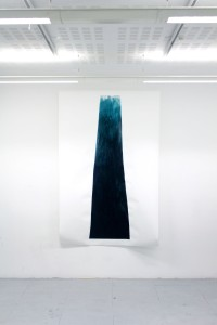 Untitled, 2012, Acrylic on cartridge paper with MDF, 100x240x20cm