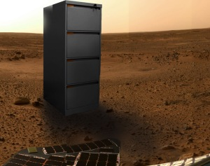 Mars Cabinet, 2012, Digital Collage