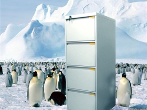 Antarctic Cabinet, 2012, Digital Collage