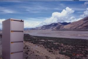 Tibet Cabinet, 2012, Digital Collage